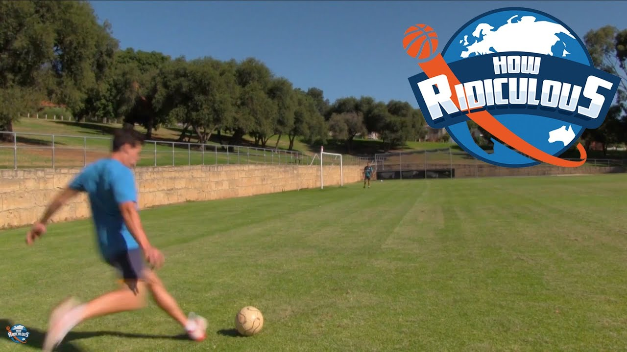 Football (Soccer) Trick Shots - How Ridiculous - YouTube