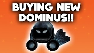 BUYING THE NEW DOMINUS ON ROBLOX... (31,000 ROBUX HALLOWEEN GIFT)