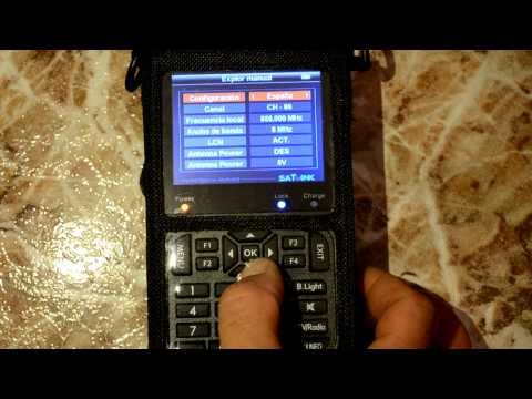 Medidor de Campo Satlink WS- 6905 tdt