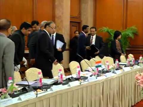 U.S. Treasury Secretary meets Indian Finance Minister