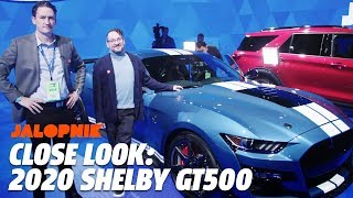 Up Close With The 2020 Mustang Shelby GT500   Jalopnik