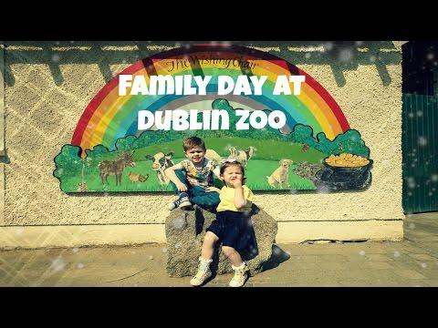 Family day at Dublin Zoo