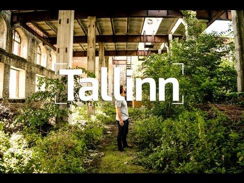 COOL ABANDONED FACTORIES IN TALLINN, ESTONIA