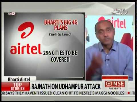 Airtel bharti's big 4G plans