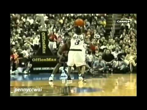 Allen Iverson 30pts Highlights vs Allan Houston & Latrell Sperewell the Knicks 99/00