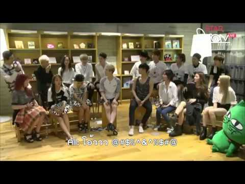 [Thai Sub] 140728 - JYP Nation Talk - Sense game Cut