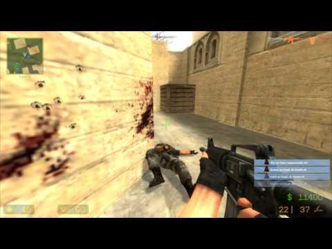 Counter-Strike Source [CSS][HD][PC][GAMEPLAY][ESPAÑOL][de_dust2_de dia!]