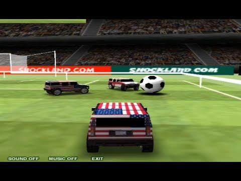 Hummer Car Soccer Games
