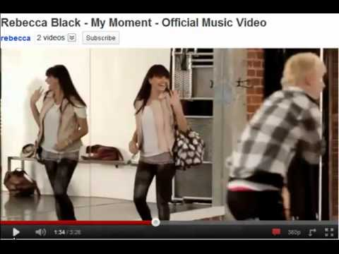 Rant: Rebecca Black's New Song (My Moment)