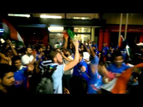 IndVsPak Victory Celebration on Punjabi Tunes