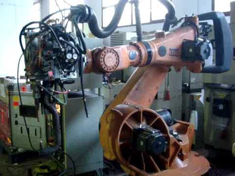 Kuka spotwelding robot KR150 with VKRC1 controller – Bosch at eurobots.net