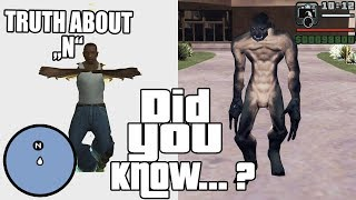 GTA San Andreas Secrets and Facts 13