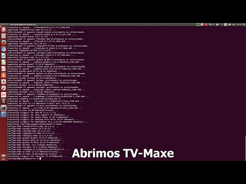 Como instalar TV-MAXE en Ubuntu / Mint (alternativa a Sopcast)