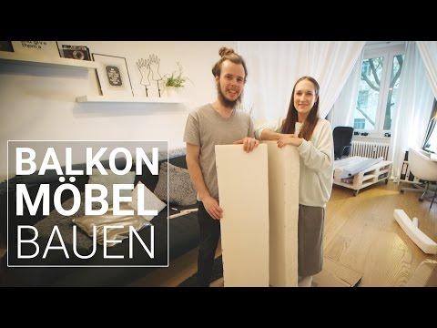 Lounge aus Holzpaletten selber bauen   DIY