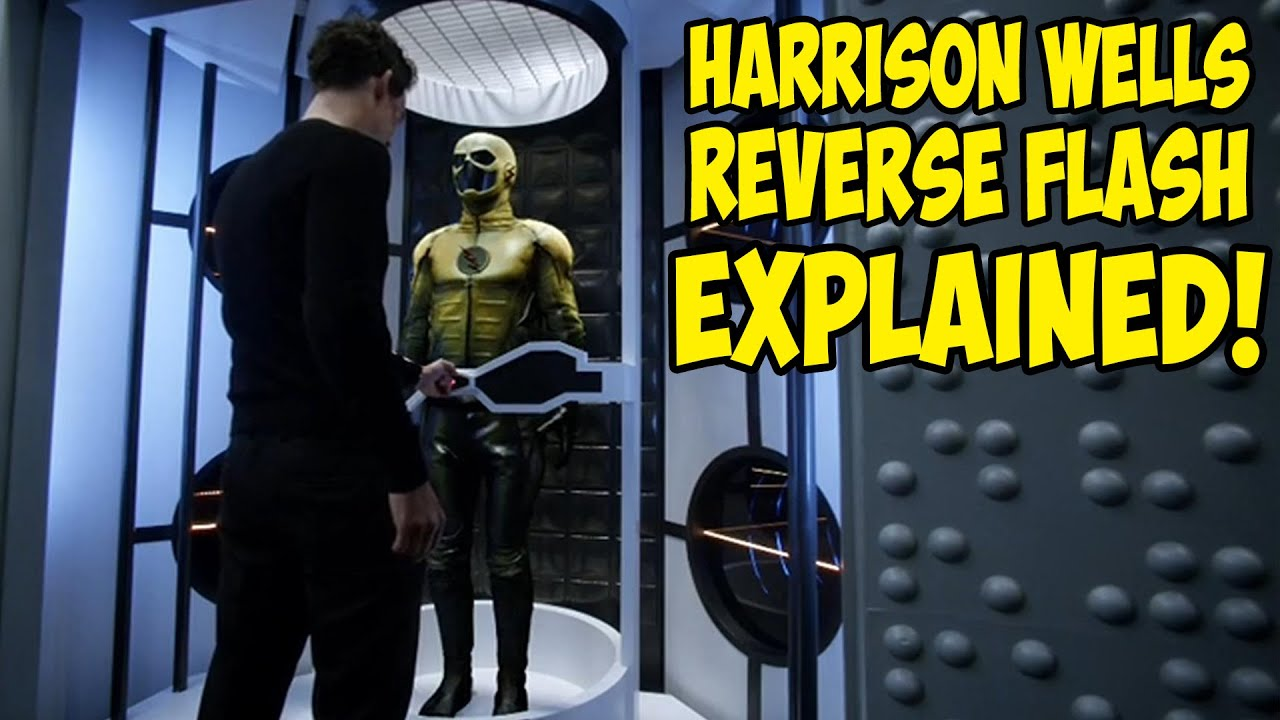 Flash 1990 Reverse Flash Harrison Wells Reverse Flash