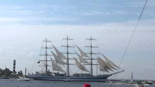 Международная регата The Tall Ships Races-2013, парусник Мир,Россия