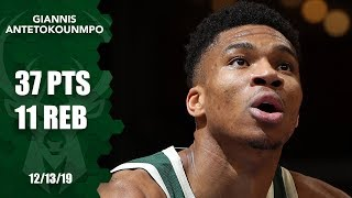 Giannis Antetokounmpo comes alive in fourth for Bucks vs. Grizzlies | 2019-20 NBA Highlights