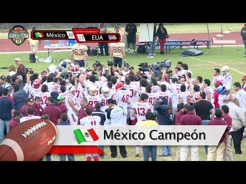 Highlights American Bowl Mexico vs USA 14Dic2013