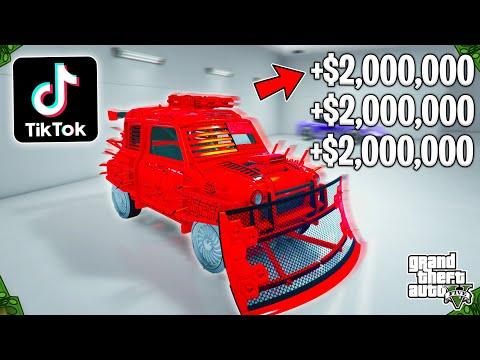 Testing Viral TikTok GTA 5 Online Money Glitches! (Finally We Found One!)