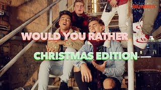 In Real Life - Would You Rather? (Christmas Game Edition)   Exclusive Interview