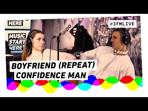 Confidence Man - Boyfriend (Repeat) | 3FM Live