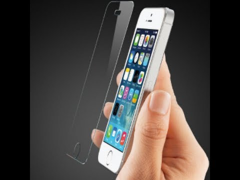 PerfectFit Technologies GlassShield Tempered Glass Screen Protector for iPhone 5. 5s and 5c
