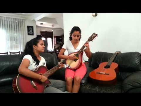 Tujh Mein Rab Dikhta Hai - Guitar & Mandolin Instrumental Cover - Senuri And Thenuri