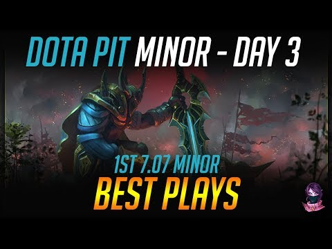 AMD SAPPHIRE Dota PIT Minor - BEST PLAYS - Day 3 Highlights Dota 2 by Time 2 Dota #dota2