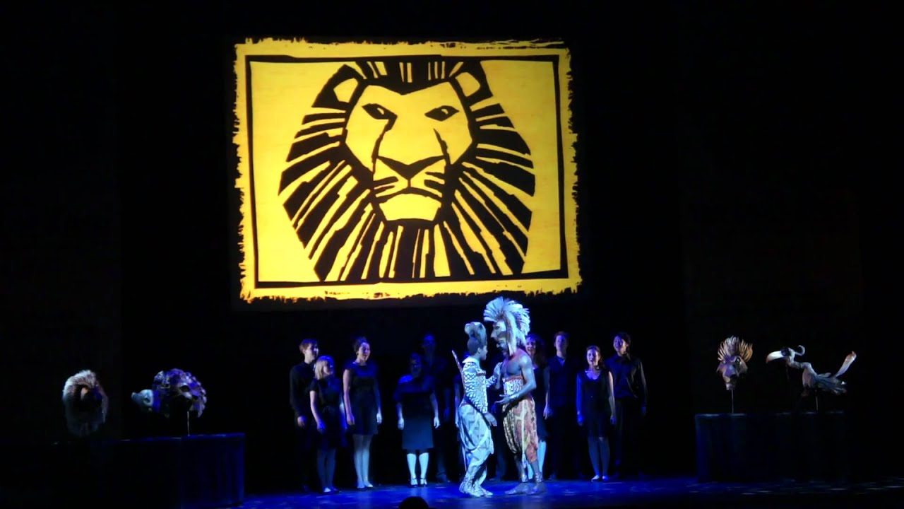 Lion King Musical Simba And Nala Lion King The Musical