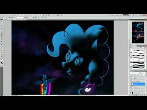 My Little Pony Speed Painting: Star Horse