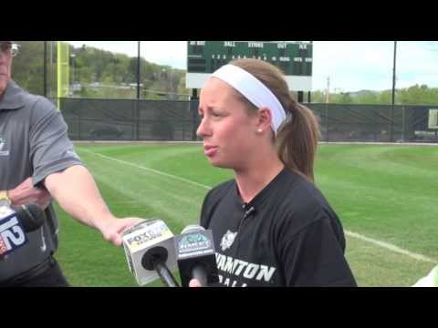 Binghamton University Softball Postseason Media Day