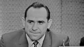 What's My Line? - Yogi Berra;  Martin Gabel [panel] (Jul 2, 1961)