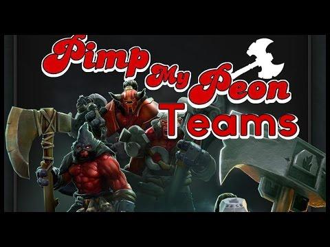 Dota 2 Mods | PIMP MY PEON!! | Teams!