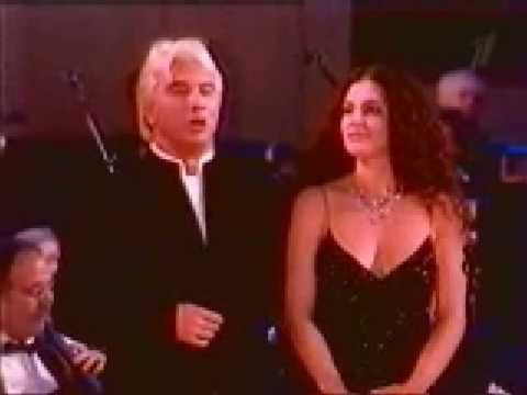 Dmitri Hvorostovsky and Florence Hvorostovsky  (Live)  The merry widow