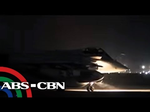 TV Patrol: Air strike, inilunsad ng France sa kampo ng ISIS