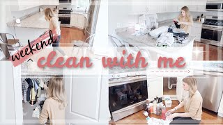 CLEAN WITH ME SPRING 2019 / WEEKEND CLEANING ROUTINE / EXTREME CLEANING MOTIVATION / CATHERINEELAINE