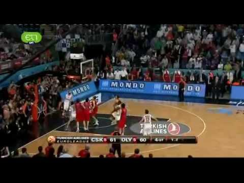 CSKA Moscow 61-62 Olympiakos Piraeus - Last Seconds
