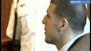 Uncut: Aaron Hernandez appears on the stand