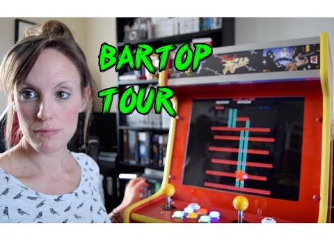 645 Classic Arcade Games - Tour of my Bartop Arcade Machine! (TheGebs24)