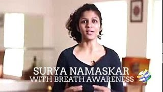 Surya Namaskar Part-2 Breath Awareness