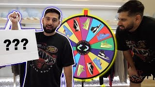 I HAD TO BUY THIS $2,000 SNEAKER BECAUSE THE SPIN WHEEL!!!