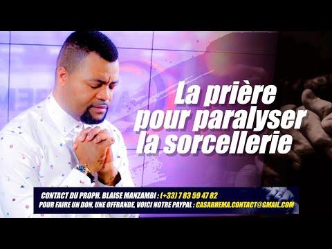 Prière pour paralyser la sorcellerie- Prophète Blaise MANZAMBI #CASARHEMA