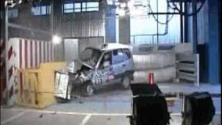 Crash-tests   Chevrolet Niva (ВАЗ 2123) Autoreview.ru 2003.avi
