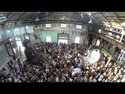Launch of Zhang Huan's Sydney Buddha at Carriageworks, Sydney Festival 2015