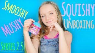SQUISHY UNBOXING SMOOSHY MUSHY SURPRISE Series 2.5 | Bryleigh Anne
