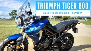 2018 Triumph Tiger 800 XRT Motorcycle Review