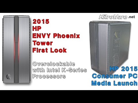 HP Envy Phoenix 2015 Overclockable Gaming Tower First Look