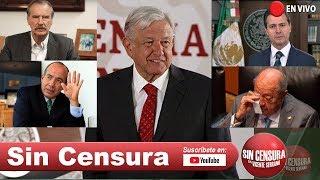EN VIVO #Fox #Calderon #EPN endeudaron a México: #AMLO. Tiembla #RomeroDeschamps 7/16/2019