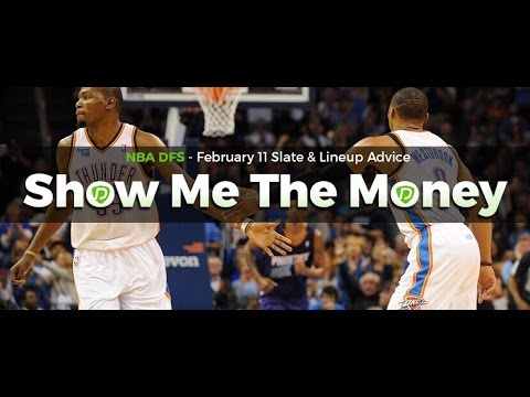 NBA Daily Fantasy Basketball: Feb 11 DFS Tinder & Lineup Advice