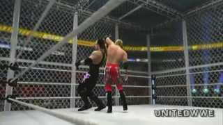 Edge vs The Undertaker HELL IN A CELL Summerslam WWE 2k14